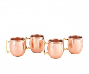 Mini Copper Shot Glasses