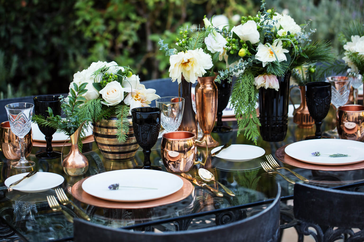 Wedding Copper Mugs