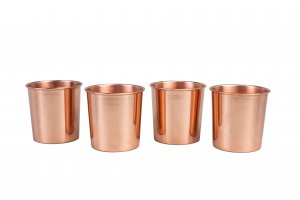 Tumbler Smooth Copper Cup