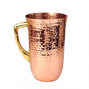 Hammered Copper Pitcher