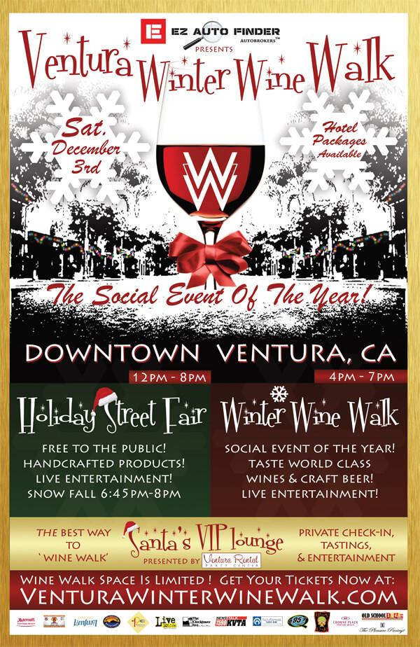 ventura winter wine walk 2016 poster