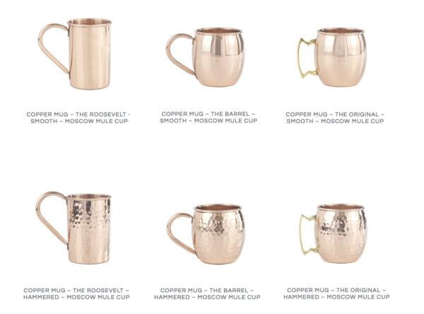 copper mugs 600x444